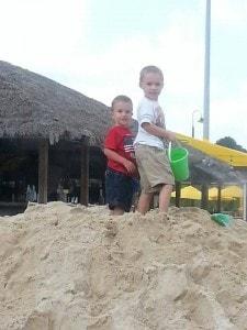 Sand pile and lulus