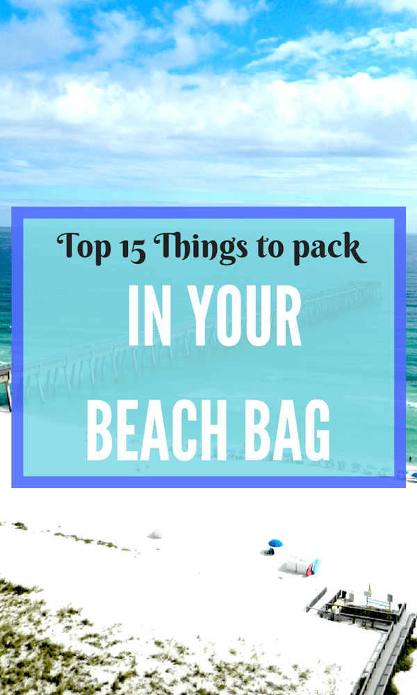 You know the basics of what to bring to to the beach but we bet that you have thought of some of the items that made of list of top things to pack in your beach bag.