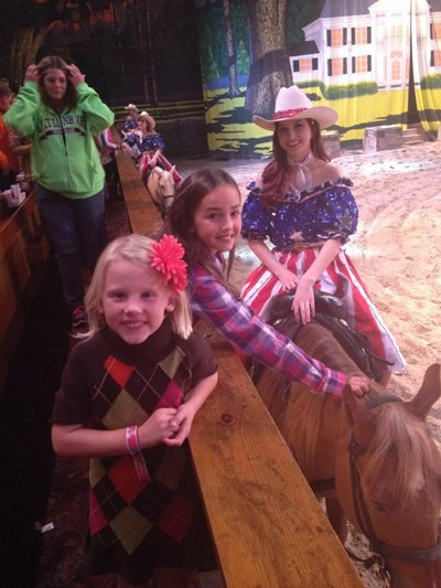 Meet the stars of The Dixie Stampede in Gatlinburg TN