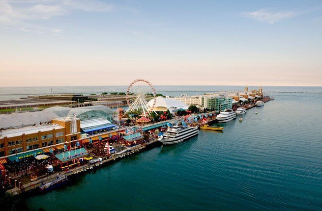 Things to do on Spring Break in Chicago - Navy Pier