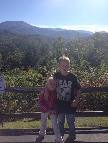 Take the Sky Lift into the mountains in Gatlinburg Tennessee