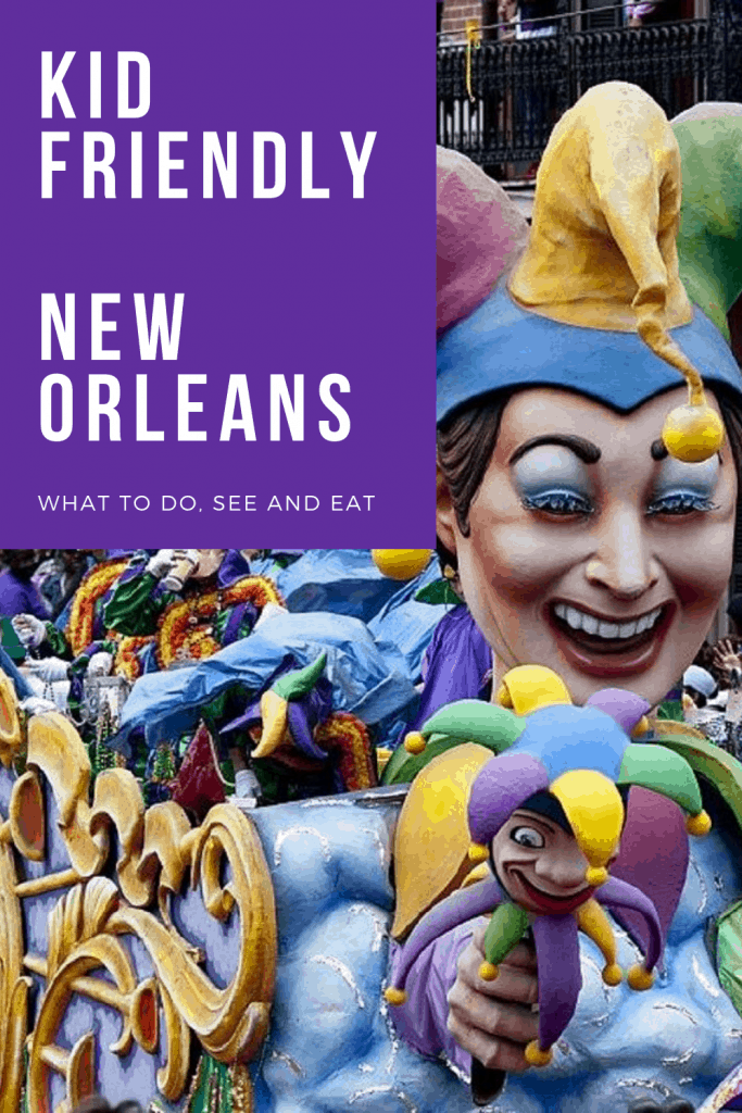Headed to New Orleans with kids and unsure of what the best kid friendly options are? We have you covered. Take a look at what we recommend to do see and eat with kids in New Orleans