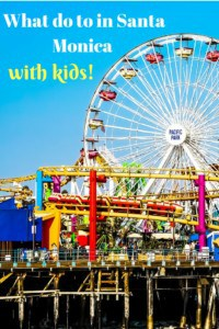 What to do in Santa Monica with kids
