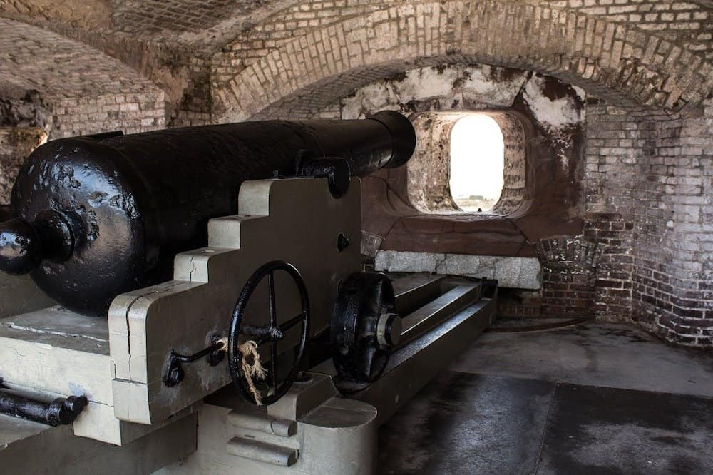 Fort Sumpter - things to do with kids in Charleston South Carolina