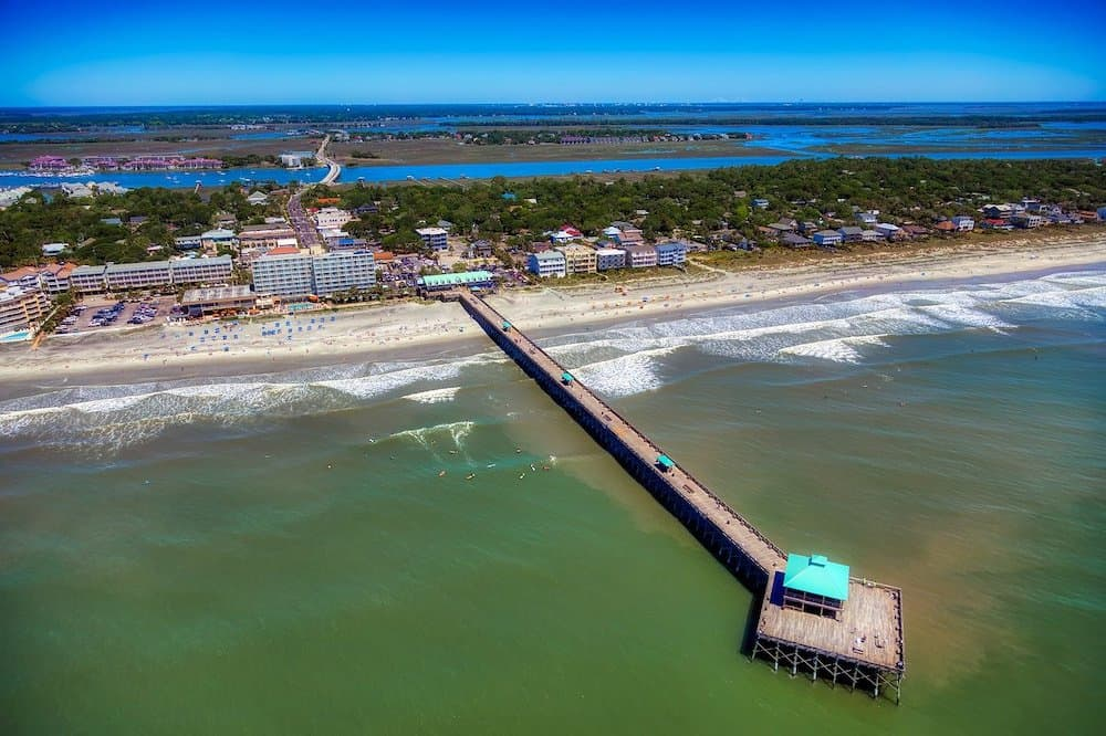Folly Pier - Things to do with kids in Charleston SC