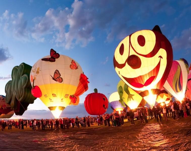 Albuquerque is the balloon capital of the world!