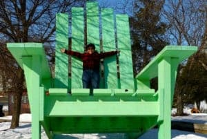The Big Green Chair