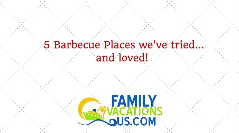 5 Barbecue Joints we've tried and loved!