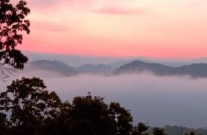 Dawn at Foothills Parkway, Great Smokey Mountains National Park, Tennessee. (12MP camera)