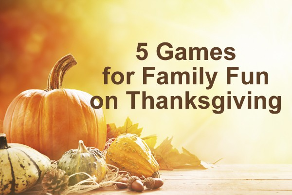 games to play for thanksgiving for kids
