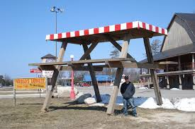 Worlds Largest Picnic Table