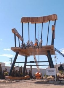 Worlds Largest Rocking Chair