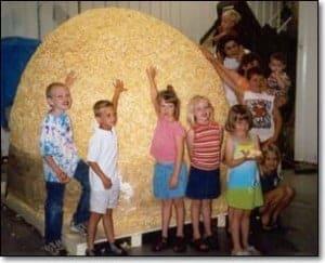 Worlds Largest popcorn ball