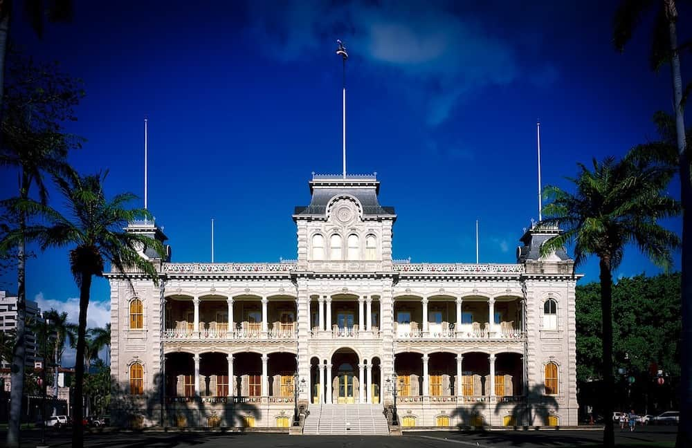 Iolani Palace. Must see attractions in Hawaii