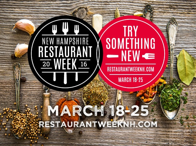 Experience New Hampshire cuisine during Restaurant Week.