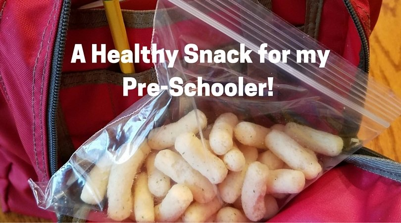 A Healthy Snack for my Preschooler