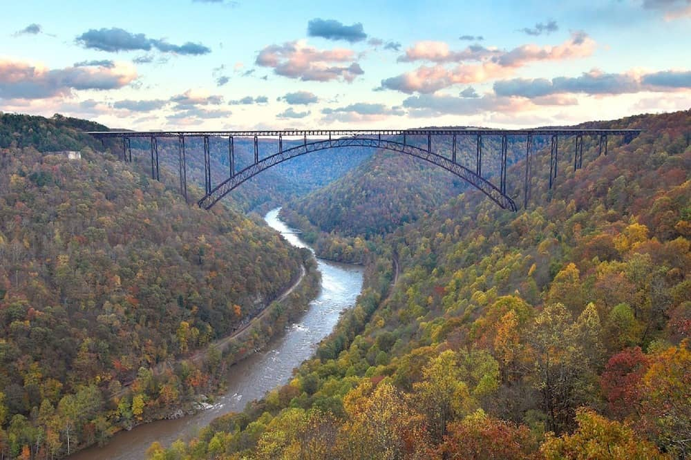 The New River Gorge Bridge is one of the 10 Must See Attractions in West Virginia