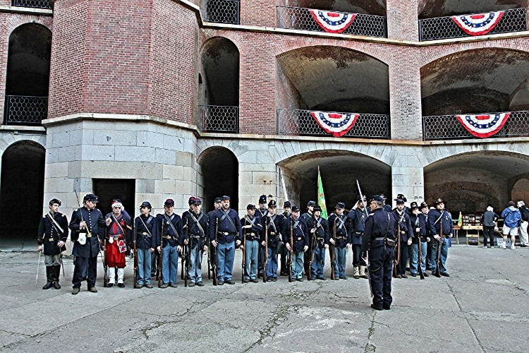 Fort Point is a gret choice for a visit durning National Park Week