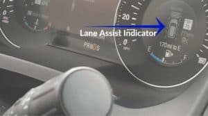 Lane Assist Indicator