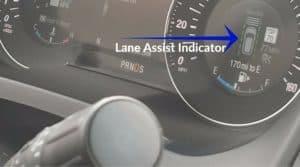 Lane Assist Indicator