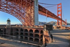 A visit to Fort Point during National Park Week