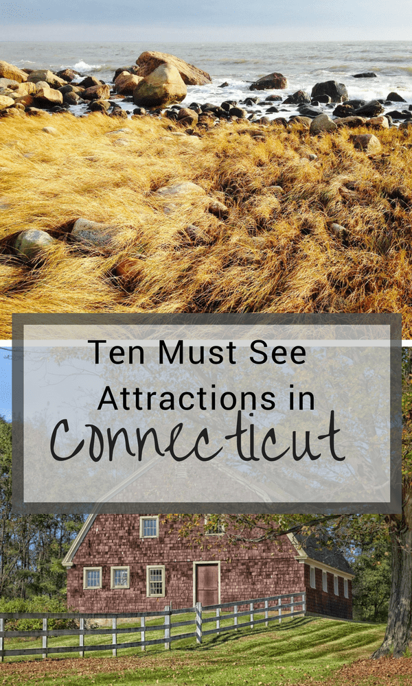 Traveling to Connecticut and wondering about the best things to see and do? Take a look at our list of must see attractions in Connecticut. #connecticutattractions #thingstodoinconnecticut