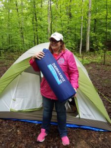 What I learned on my first camping trip