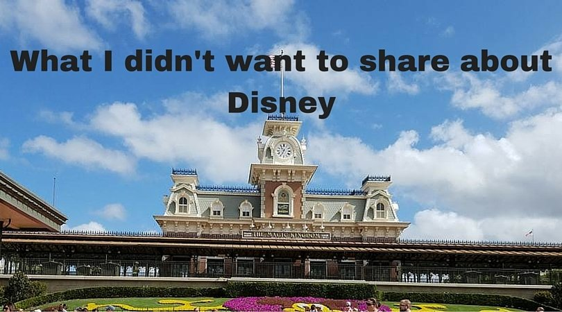 What I didn't want to Share about Disney