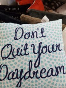 I love this pillow from their College Move In line!