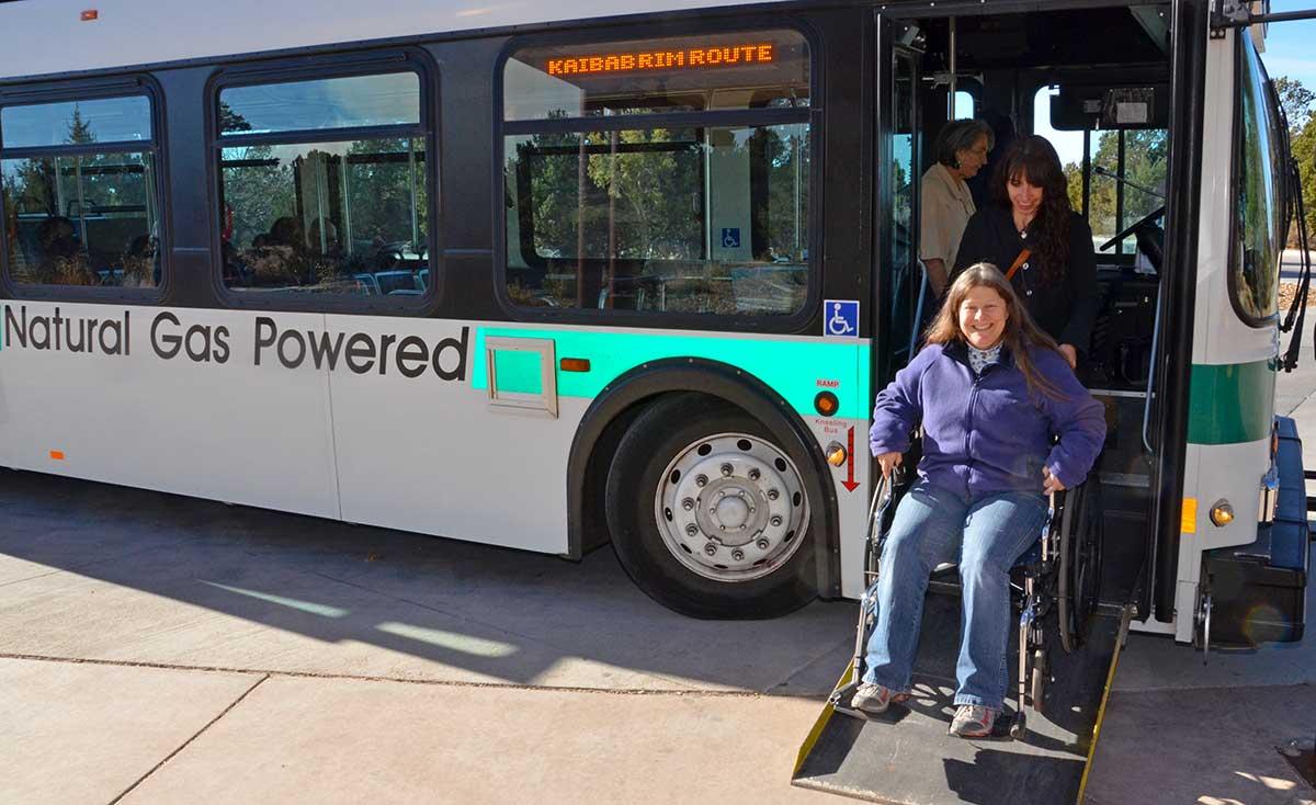 Grand Canyon NP shuttle bus