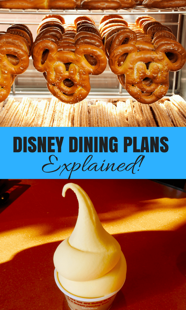 What to know about the Disney Dining Plans. We explain them from how they work to what the plans include and what they cost!
