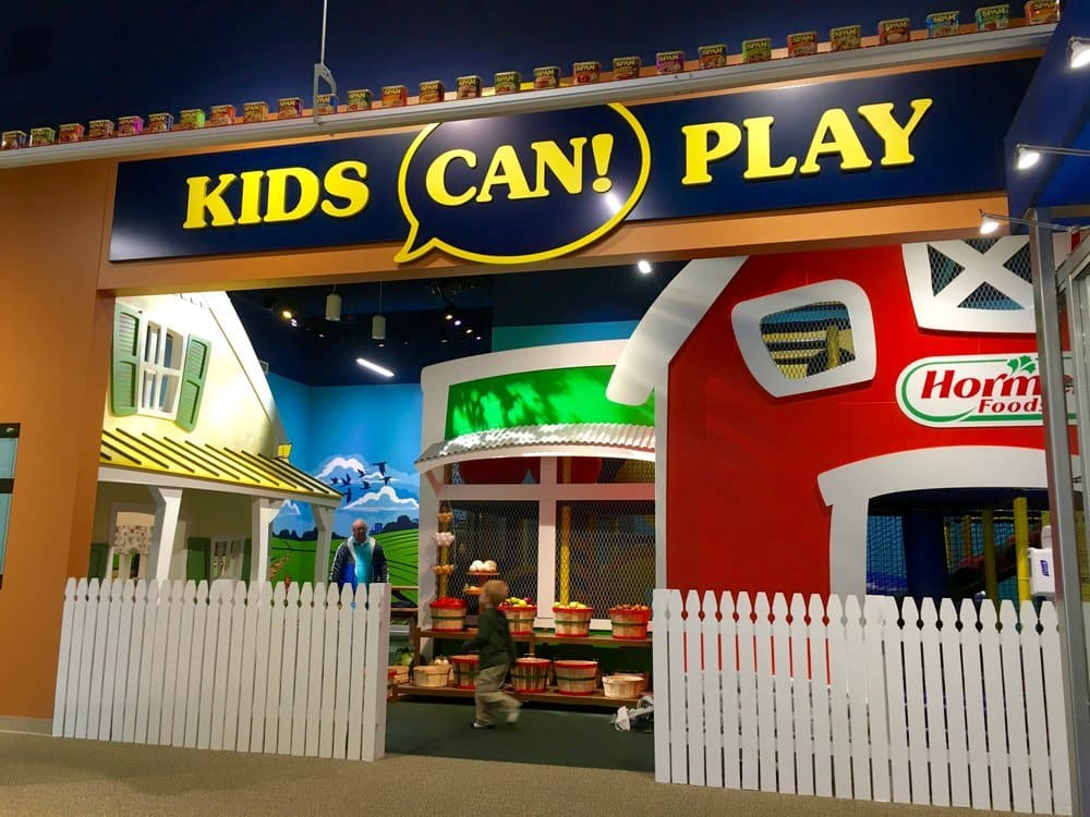 Kids Can Play zone at the Spam Museum in Austin, MN