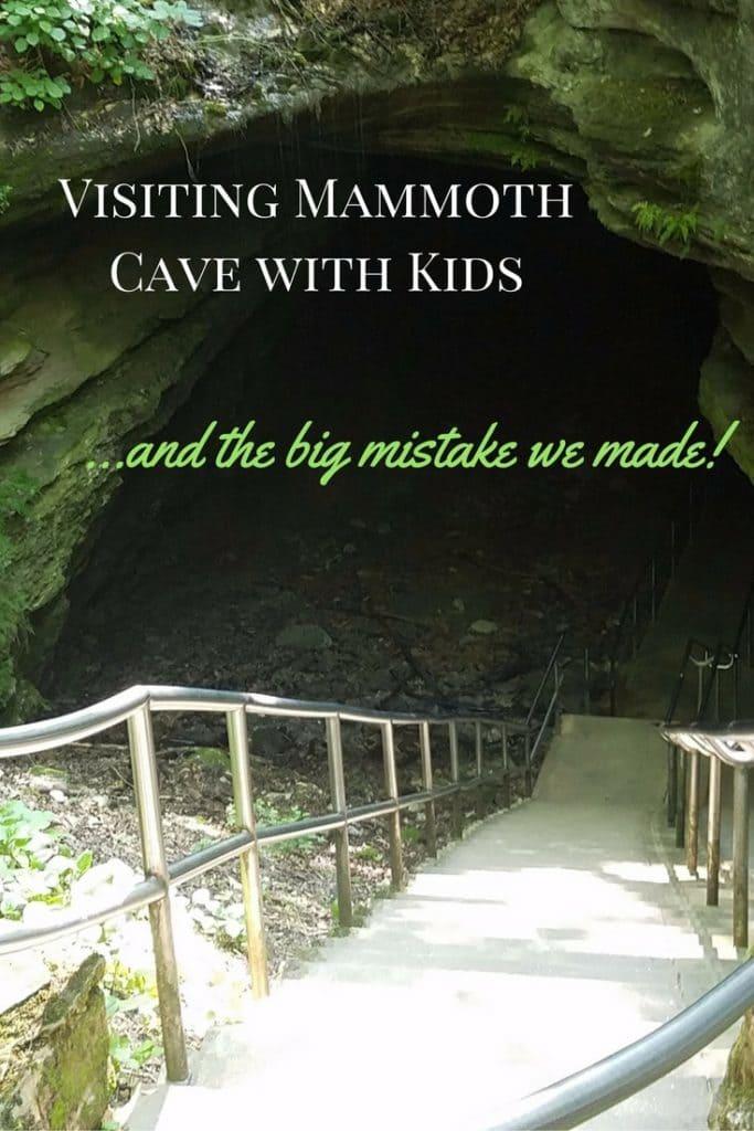 Visitng Mammoth Cave wtih Kids!