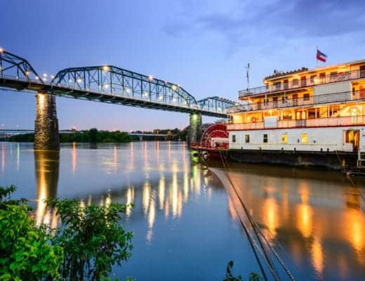 39528998 - chattanooga tennessee usa riverfront.