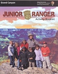 Junior Ranger book for the Grand Canyon National Park
