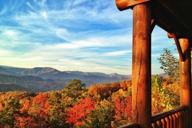 Fall colors Smoky Mountains