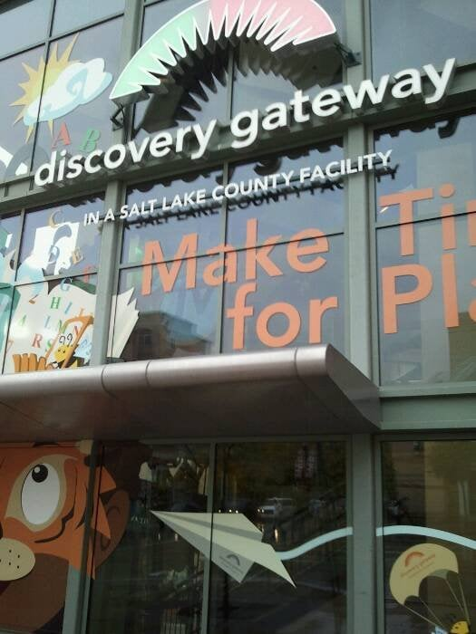 Discovery Gateway Museum in SLC, Utah