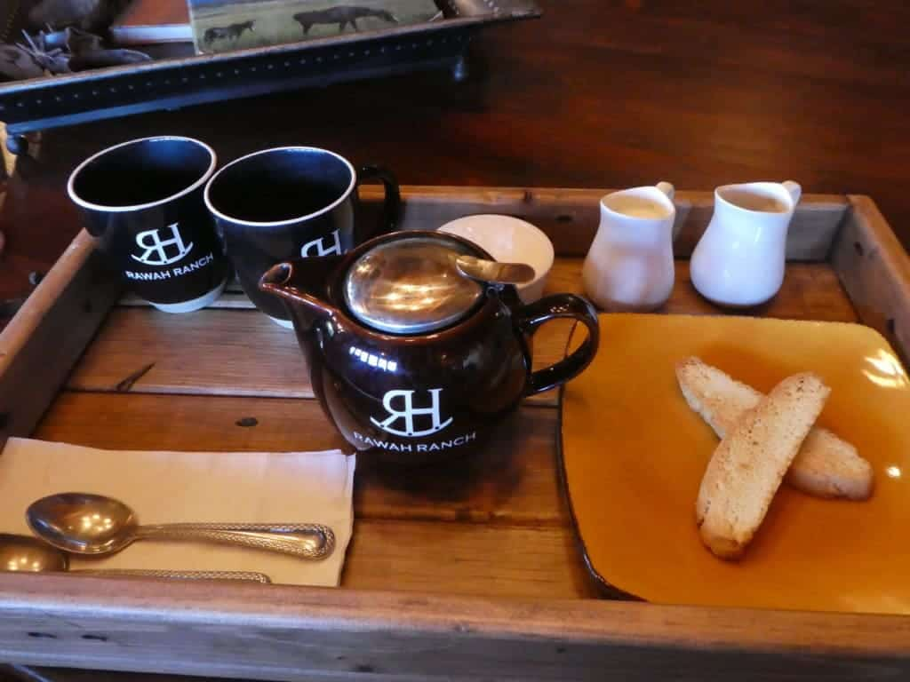 Coffee Service at Rawah Guest Ranch