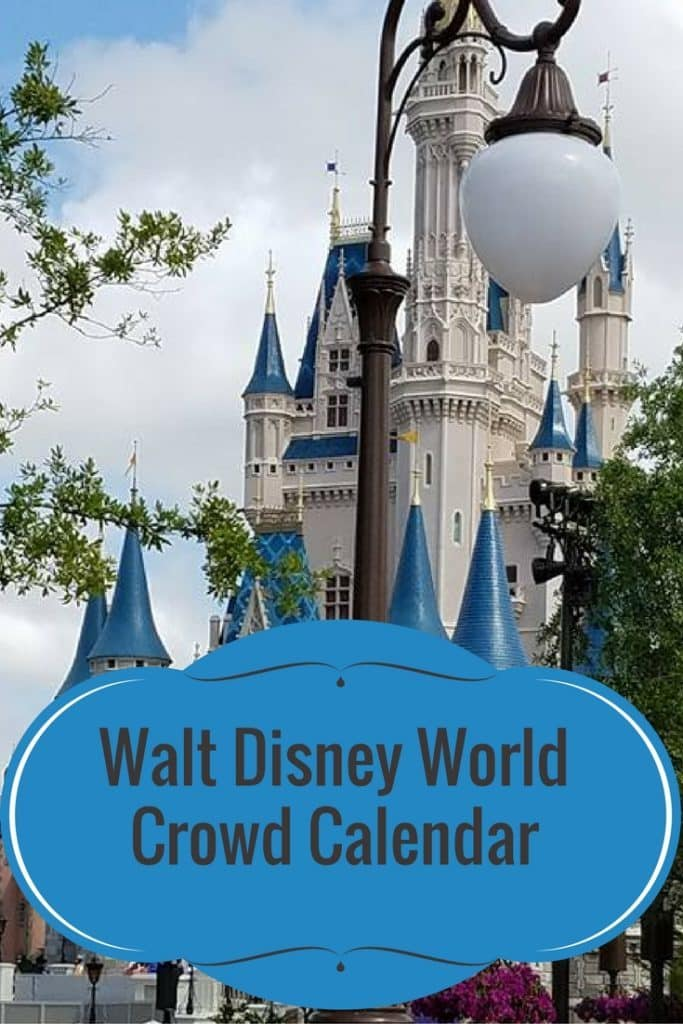 Walt Disney World Crowd Calendar (1)