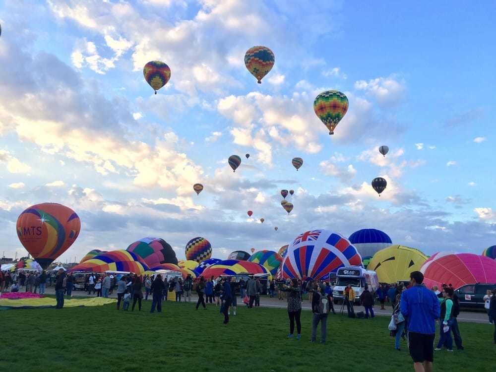 Albuquerque's Hot Air Balloon Fiesta