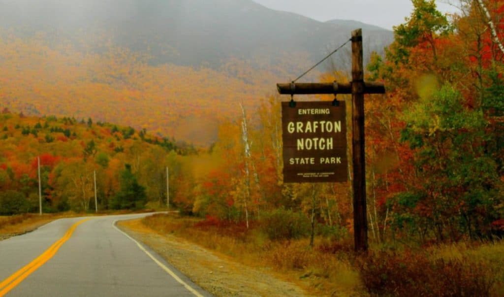 Grafton Notch fall colors