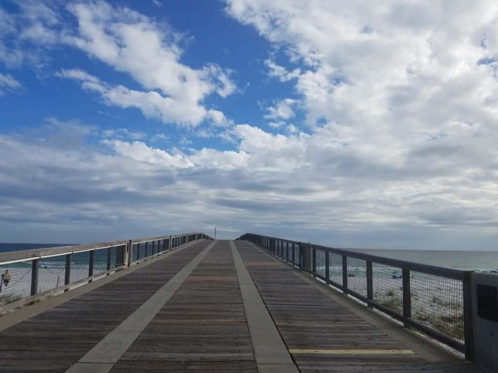 Pier at Navarre Beach Florida
