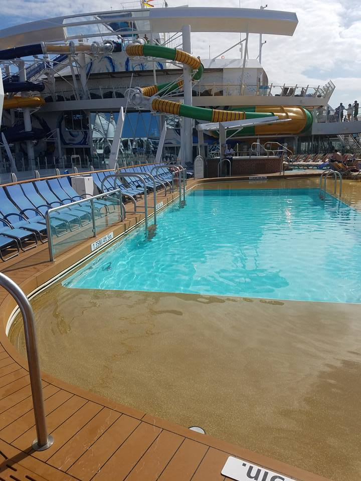 My Favorite Pool on the Harmony of the Seas.