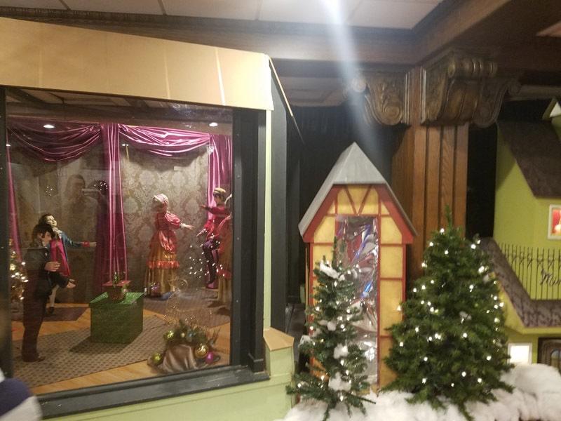 Christmas Village the Galt House