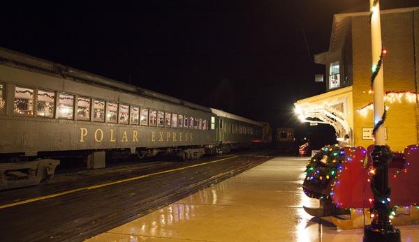 Polar Express near Louisville Kentucky