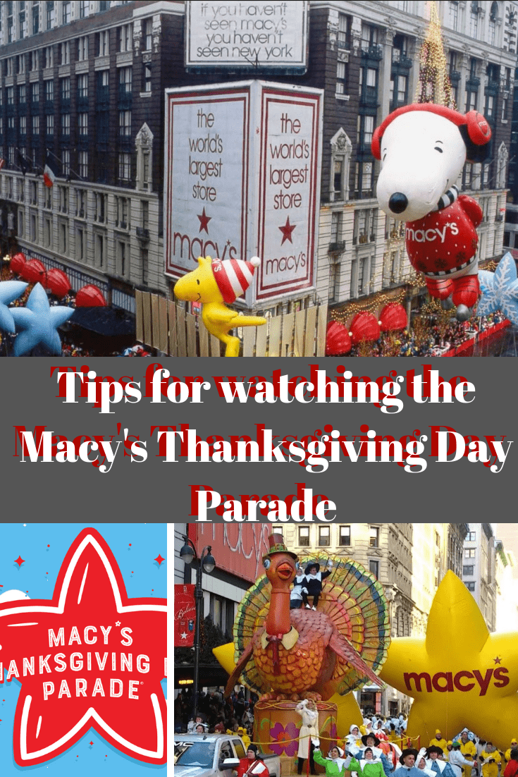 If you are headed to New York to watch the Macy's Thanksgiving Day Parade. Get our best tips for navigating the historic parade. #thanksgiving #macysthanksgivingdayparade