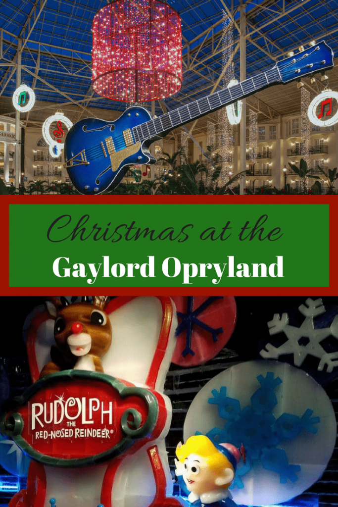 Ready to ring in the Holiday Season? Read about Christmas at the Gaylord Opryland!