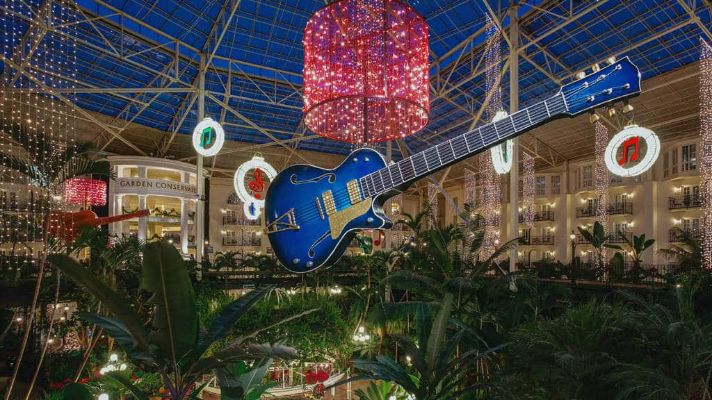 Christmas at the Gaylord Opryland