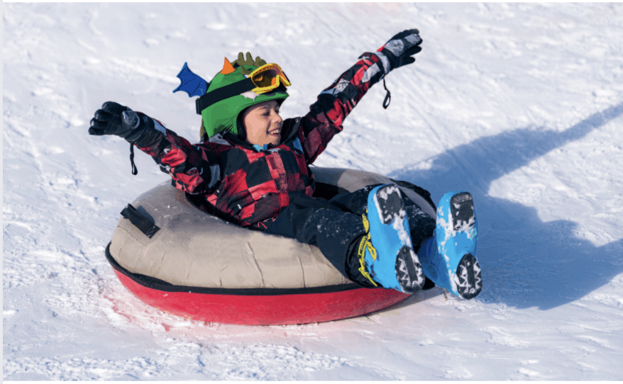 What you need to know about snow tubing with kids