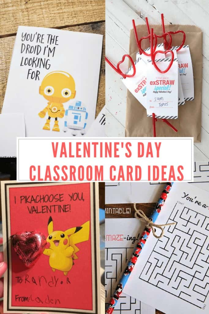 This year, get outside the usual Valentine's day card box! We've compiled some of our favorite Valentine's Day Classroom Card Ideas. #valentinesday #craft